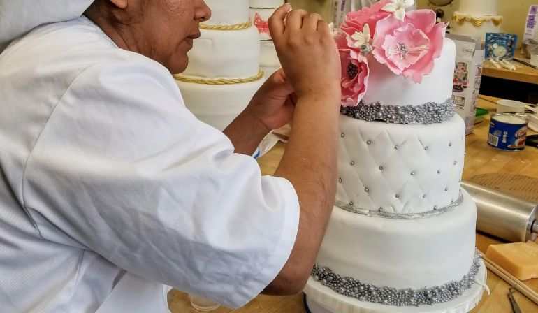 Here Comes … the Wedding Cake!