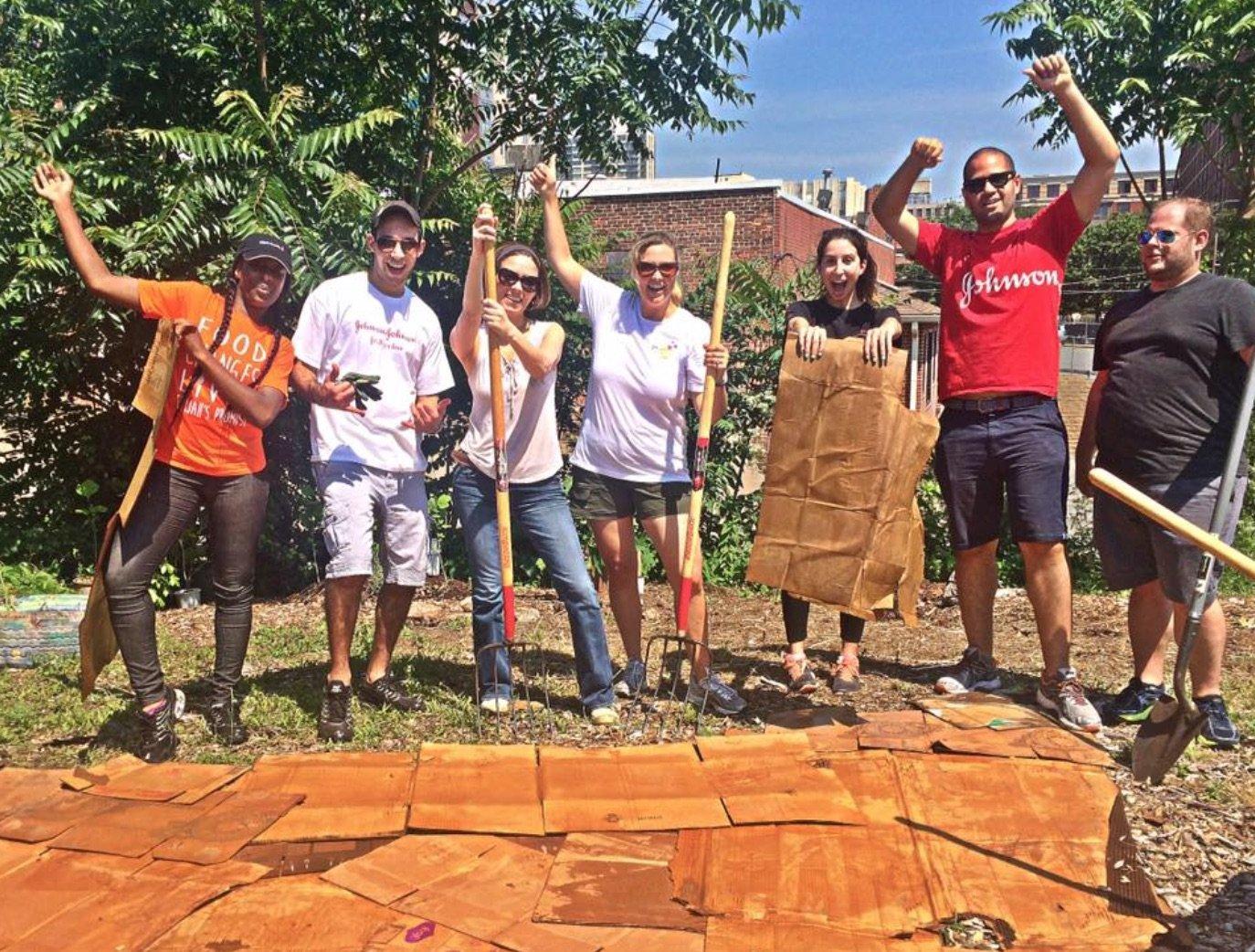 Promise Garden Volunteers
