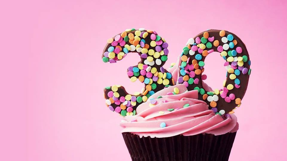 30th Cupcake
