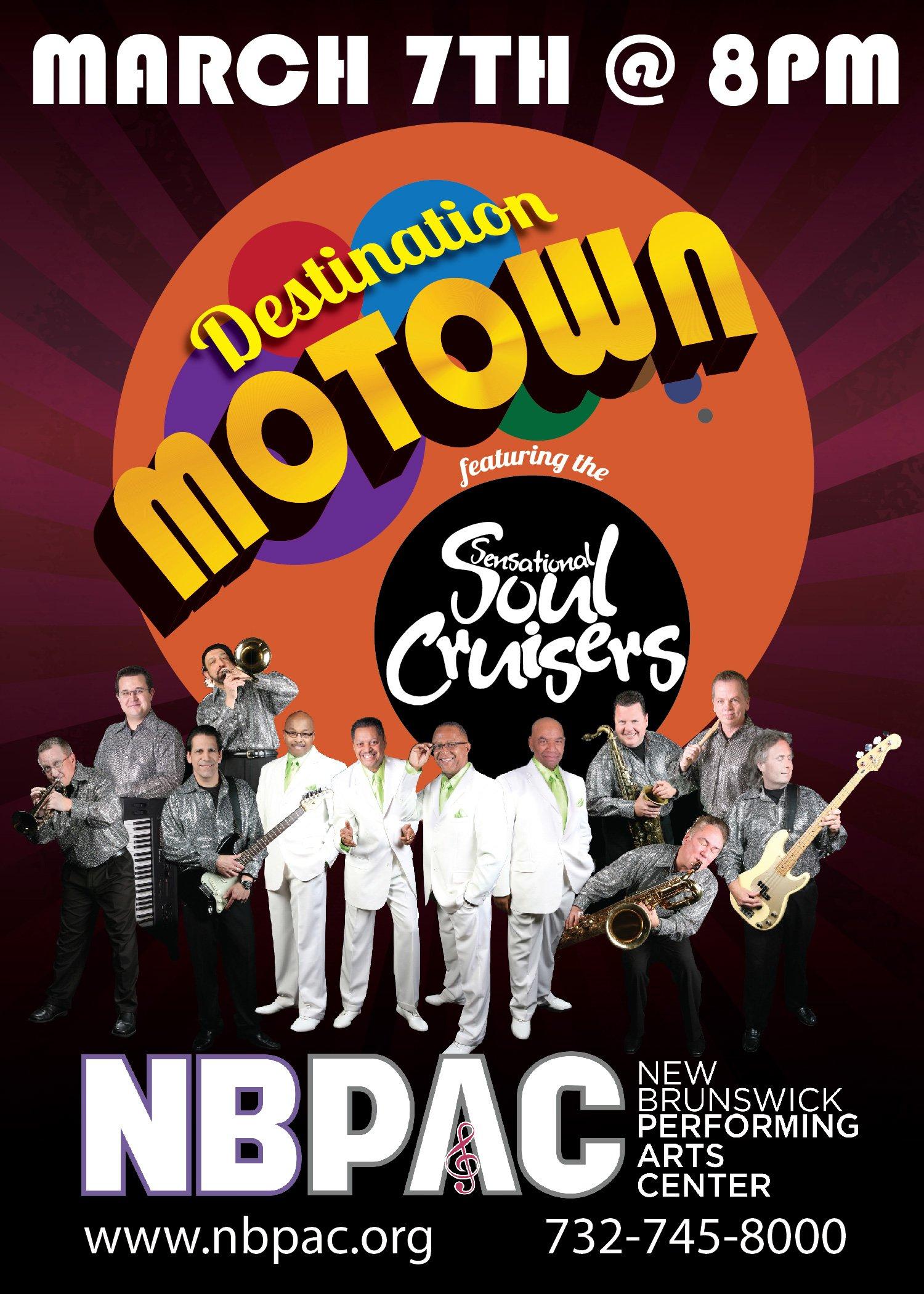 Soul Cruisers at NBPAC 3/7 at 8pm