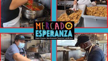 Mercado Esperanza Vendors Help Prepare Family Meals