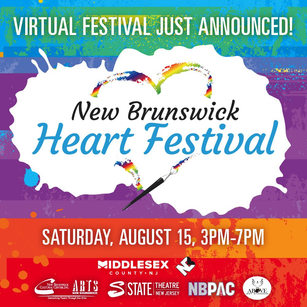 New Brunswick Heart Festival August 15th from 3pm-7pm